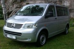 ATP Prague Airport Transfers minivan fleet - VW Transporter and Caravelle