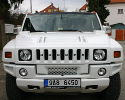 White Stretch Hummer Prague - 1 hour rent 160 EUR