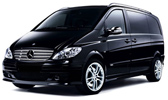 Transfer to Cesky Krumlov from Prague in new Mercedes Vito